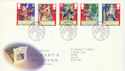 1992-07-21 Gilbert and Sullivan Stamps Bureau FDC (51920)