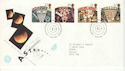1990-10-16 Astronomy Stamps Bureau FDC (51935)
