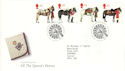 1997-07-08 All The Queen's Horses Bureau FDC (51952)
