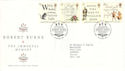 1996-01-25 Robert Burns Stamps Bureau FDC (51956)