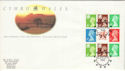 1992-02-25 Wales PSB Label Pane Europe 92 FDC (52032)