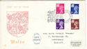 1971-07-07 Wales Definitive CARDIFF FDC (52071)