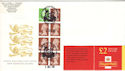 1998-12-01 FW10 Booklet Stamps RM Birmingham FDC (52081)