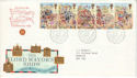 1989-10-17 Lord Mayor Show Bureau + Carried FDC (52143)
