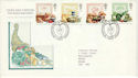 1989-03-07 Food and Farming Stamps Bureau FDC (52156)