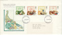 1989-03-07 Food and Farming Stamps London FDC (52157)