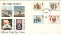 1978-11-22 Christmas Stamps Forces PO 85 cds FDC (52161)