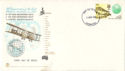 1969-04-02 First Flight to Australia Anniv FDC (52189)