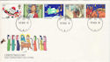 1981-11-18 Christmas Stamps Forces PO 70 cds FDC (52235)