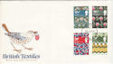 1982-07-23 British Textiles Forces PO 70 cds FDC (52242)