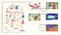 1981-11-18 Christmas Stamps Cotswold FDC (52252)