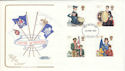 1982-03-24 Youth Orgs Stamps Cotswold FDC (52253)