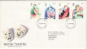 1982-04-28 British Theatre Stamps Dunstable FDC (52259)