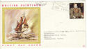1968-08-12 British Paintings London W2 Slogan FDC (52296)
