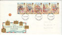 1989-10-17 Lord Mayor Show Stamps Ipswich FDI (52346)
