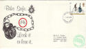 1978-08-02 Cycling Stamp Bike Safe Surrey Police FDC (52379)