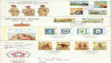 1975-1985 Isle of Man Bulk Buy x28 FDC's (52383)
