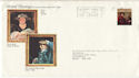 1973-07-04 British Paintings Rare Design FDC (52390)