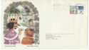 1973-11-28 Christmas Stamp Rare Design FDC (52392)