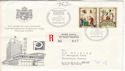1970 Switzerland Stamps Philympia Registered Cover (52396)
