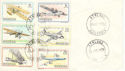 1978-10-18 Rhodesia Anniv of Powered Flight Stamps FDC (52409)