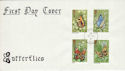 1981-05-13 Butterflies Stamps FPO 961 cds Limited FDC (52419)