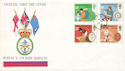 1981-08-12 Duke of Edinburgh Awards FPO 952 cds FDC (52424)