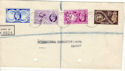 1949-10-10 Universal Postal Union Derby cds FDC (52445)
