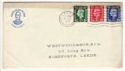 1937-05-10 KGVI Definitive Leeds wavy FDC (52457)