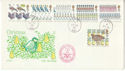 1977-11-23 Christmas Stamps Forces PO 961 cds Ltd FDC (52460)