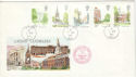 1980-05-07 London Landmarks Forces PO 961 cds Ltd FDC (52470)