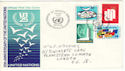 1970-09-22 United Nations 25th Anniv FDC (52474)