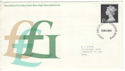 1972-12-06 High Value Definitive Lge Windsor FDC (52480)