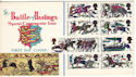 1966-10-14 Battle of Hastings Margate cds FDC (52514)