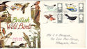 1966-08-08 British Birds Stamps Margate cds FDC (52530)