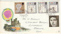 1969-07-01 Investiture Stamps Margate cds FDC (52548)