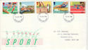 1986-07-15 Sports Stamps Dartford FDC (52557)