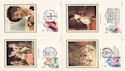 1982-04-28 Theatre Benham Silk Postcards FDC (52591)