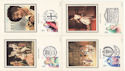 1982-04-28 Theatre Benham Silk Postcards FDC (52592)