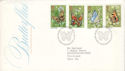 1981-05-13 Butterflies Stamps London SW FDC (52629)