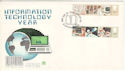 1982-09-08 Information Technology Stamps London FDC (52641)