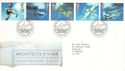 1997-06-10 Architects of the Air Duxford FDC (52666)