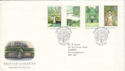 1983-08-24 British Gardens Oxford FDC (52676)