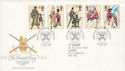 1983-07-06 British Army Uniforms Aldershot FDC (52677)