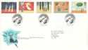 1996-10-28 Christmas Stamps Bethlehem FDC (52692)