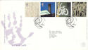 2000-05-02 Art and Craft Stamps Salford FDC (52706)