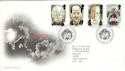 1997-05-13 Tales of Terror Stamps Bureau FDC (52712)