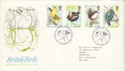 1980-01-16 Bird Stamps Sandy Beds FDC (52718)