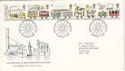 1980-03-12 Railway Stamps Manchester FDC (52720)