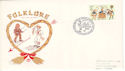 1981-02-06 Folklore Folk Song and Dance Soc SW1 FDC (52740)
